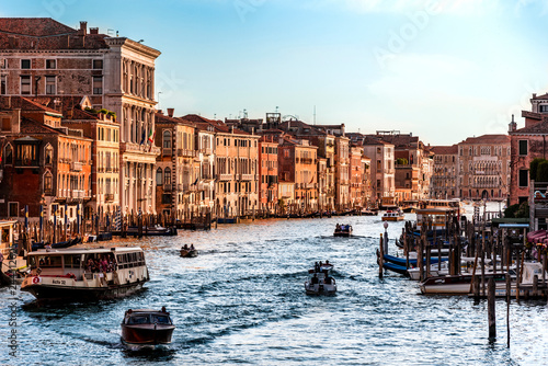 Venice in late afternoon with beautiful l color
