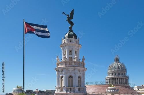 fototapeta na ścianę Cúpulas de La Habana