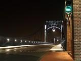 Fototapeta Fototapety pomosty - Kaiser Wilhelm Brücke beleuchtet © Hans Sehringer