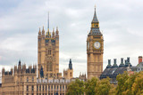 Big Ben and Houses of Parliament in London - 244565063