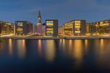 Copenhagen. City embankment at sunset. - 244570231