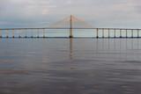 Fototapeta Fototapety pomosty - Rio Negro bridge, Manaus, Brasil © Antoine Goumas
