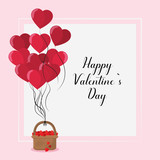 Happy valentines day card - 244575861