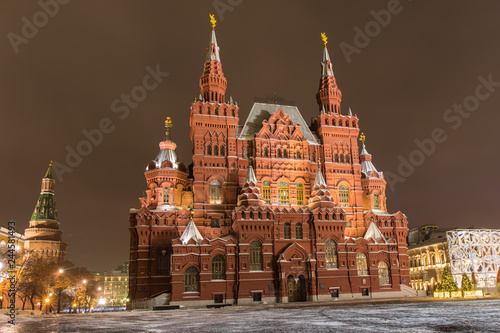 On red square in Moscow