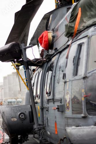 fototapeta na ścianę helicoptero