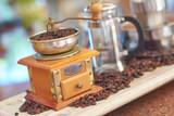 Vintage coffee grinder - 244635444