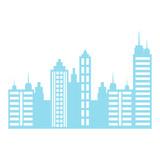 Fototapeta Fototapety miasto - City buildings design © djvstock