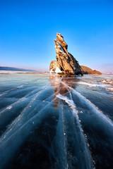Baikal lake in winter © Денис Черепко
