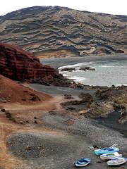 El Golfo Bay, Lanzarote, Canary Islands © Steve McHale