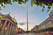 Dublin, Ireland  symbol spire and General Post Office - 244700096