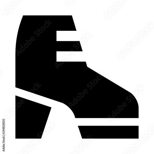 Boot shoe heel