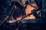 Electric saw machine - 244890856