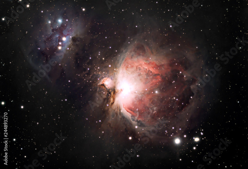The Orion Nebula - 244893270