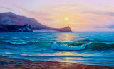 painting seascape - 244946032