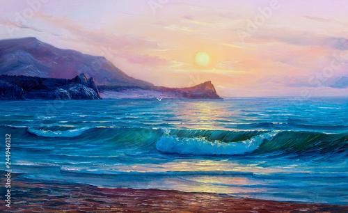 painting seascape © serge-b