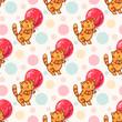 funny cartoon kittens - 244955658