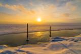 Fototapeta Fototapety na sufit - Zamarznięte morze © Maciej