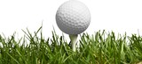 Golf Ball isolated on white background. Sport and Recreation