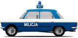 FSO Polski Fiat 125p MILICJA OBYWATELSKA 1975-1982