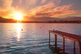 Fototapeta Zachód słońca - Coucher de soleil © L.Bouvier
