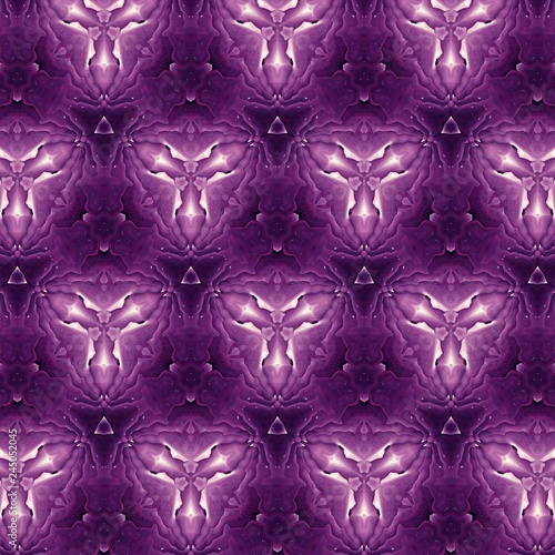 Abstract watercolor background in fantasy colors. Graphic liquid painting cosmic art. Fashion pattern for design. Fractal artwork.  - 245052045