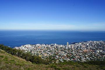 Large View Lion's Head Cape Town Sky Sea Mountain © Sascha