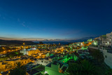 Fototapeta Miasto - Canary islands gran canaria winter night city © Dirk