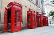 Red telephone, London