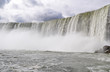 Niagara Falls Rushing Down the Cliffside