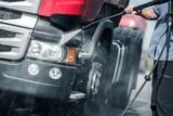 Semi Truck Pressure Washing