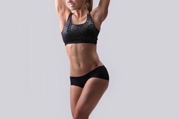 young beautiful fitness girl © zhagunov_a