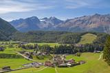 Blick auf Niederthai im Ötztal - 245344668