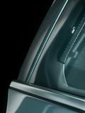Autofenster mit Gitter und Stoff