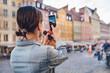 Leinwandbild Motiv Young traveler in Wroclaw