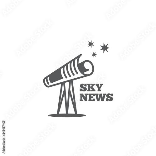Sky news logo | Buy Photos | AP Images | DetailView
