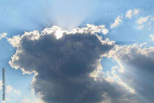 Beautiful sky view  - 245499695