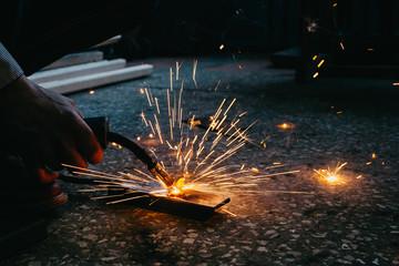 metal welding process © ZUYEVICH