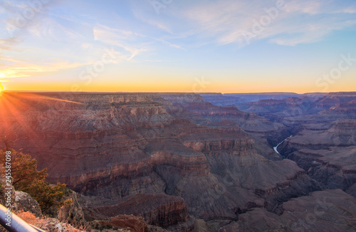 Grand Canyon Sunrise from Hermest Trail Point © Josemaria Toscano