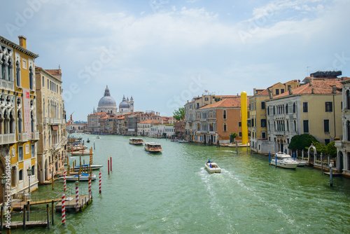 VENICE, ITALY - AUGUST 10, 2017: famous grand canale, Venice, Italy