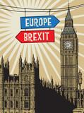 Europe vs Brexit poster