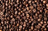 Roasted coffee beans, macro closeup - 245687273