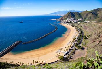 View of Las Teresitas Beach