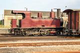 Locomotive à vapeur Baie de Somme, Picardie, France