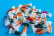 PCR centrifuge micro test tubes
