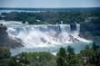 Close up view of US part of Niagara Falls