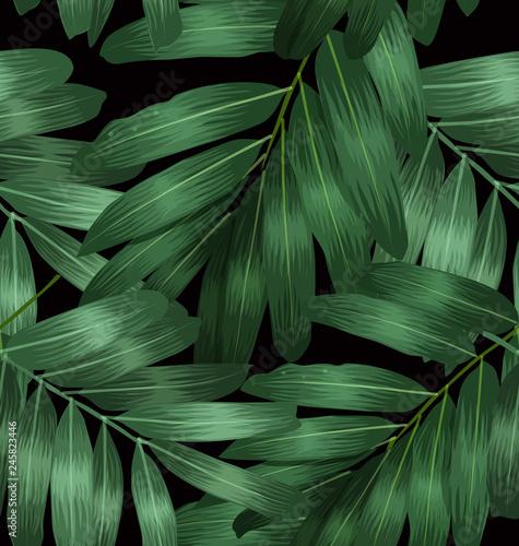 Seamless foliage pattern7 © theerapol