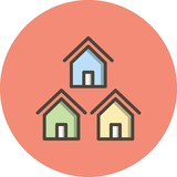 Vector Neighborhood Icon - 245859644