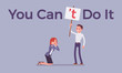 You can not do it poster