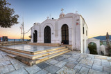 Saint George's chapel on top of Mount Lycabettus in Athens - 245879251