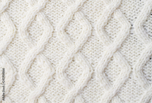 8005916467f4b Sweater or scarf texture large knitting. Knitted jersey background with a  relief pattern. Braids
